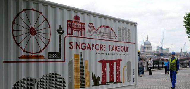 Pop-up kitchen tours the world promoting Singaporean cuisine