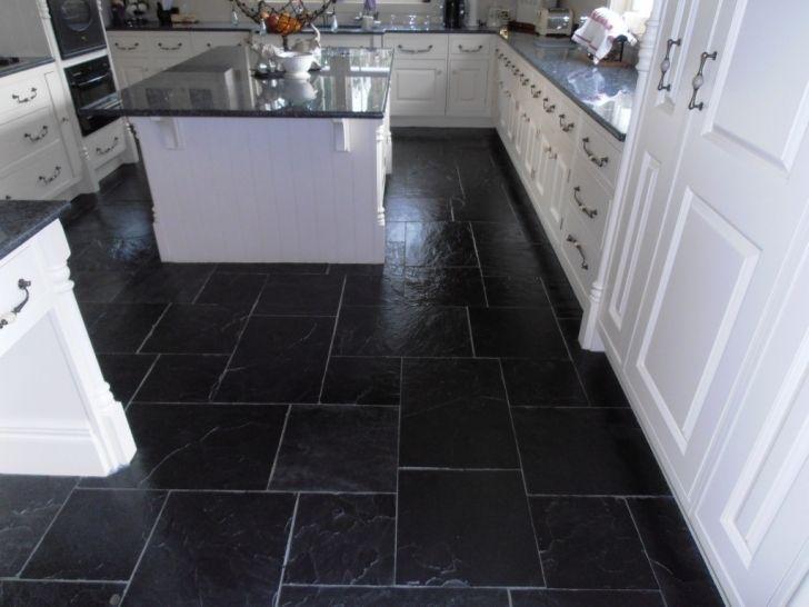 how to clean slate kitchen floor tiles