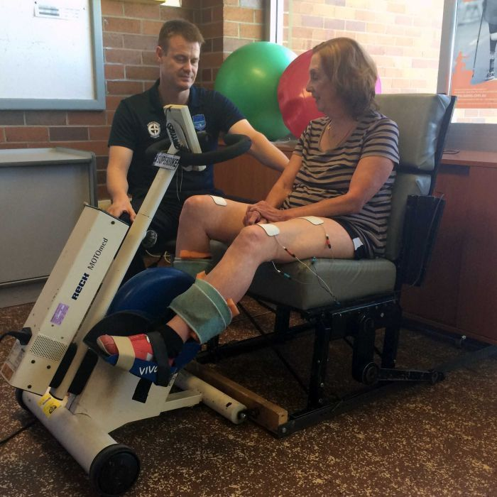 New Exercise Bike Helps People With MS Build Muscle Mass