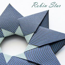 Be the first to fold this brand new origami design - Robin Star