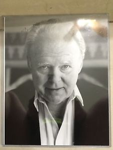 Carroll O'Connor ebay | Carroll O Connor Authentic Signed Autographed Photo Archie Bunker ...