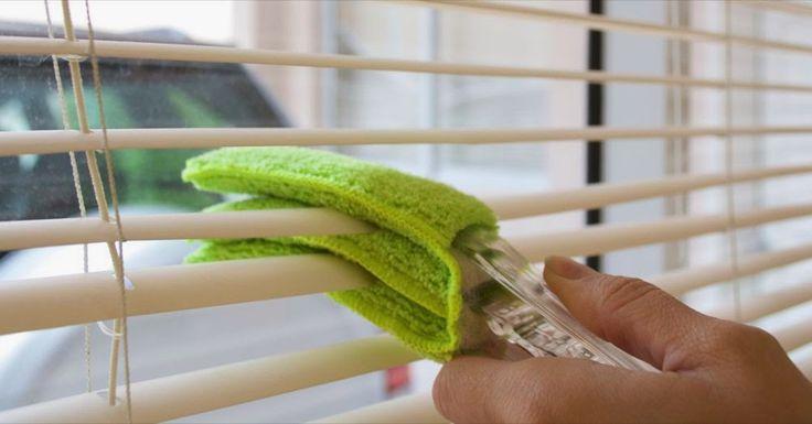 Tu Organizas.: Como limpar as persianas