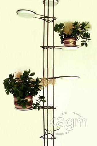 Blumenständer aus Metall für 11 Blumen Blumensäule silber 2,5 bis 2,6m in Möbel & Wohnen, Dekoration, Blumentöpfe & Vasen | eBay!