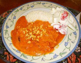 トマトとクリームで☆魚のインド風カレー