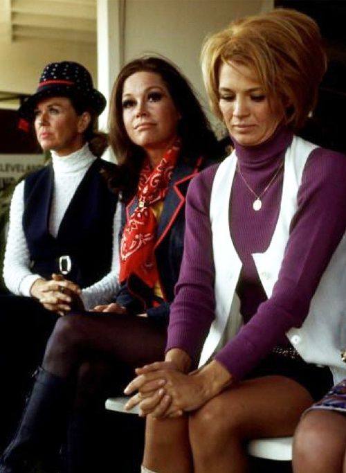 Doris Day, Mary Tyler Moore, and Angie Dickinson.  Dammit this is amazing.
