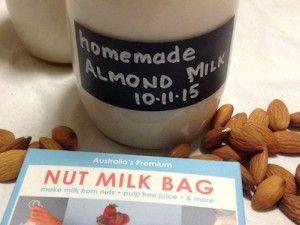 Homemade Almond Milk