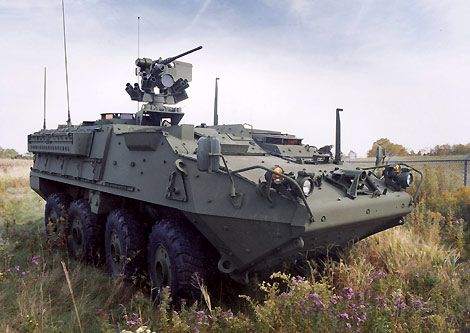 The Stryker eight-wheel infantry carrier vehicle (ICV) is in production for the US Army. - Image - Army Technology