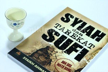 Buku Syiah dan Tarekat Sufi - Buku syiah dan tarekat sufi ajaran dan ritualnya memiliki kemiripan bahkan nyaris sama. Buku ini mengupas persamaan dari ajaran Syiah dan tarekat sufi serta kelompok sufi yang mana saja yang memiliki kesamaan dengan ajaran syiah.  Rp. 35.000,-  Hubungi: +6281567989028  Invite: BB: 7FE18977 email: store@nikimura.com  #bukuislam #tokomuslim #tokobukuislam #readystock #tokobukuonline #bestseller #Yogyakarta #syiah