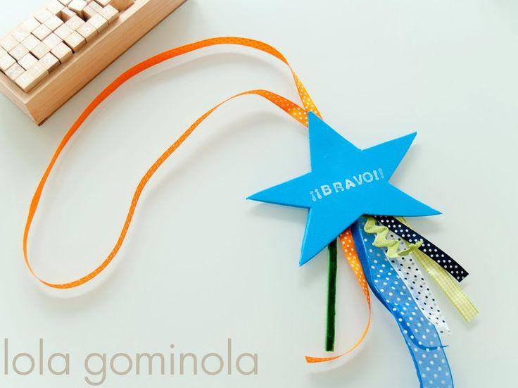 Medalla para niños DIY