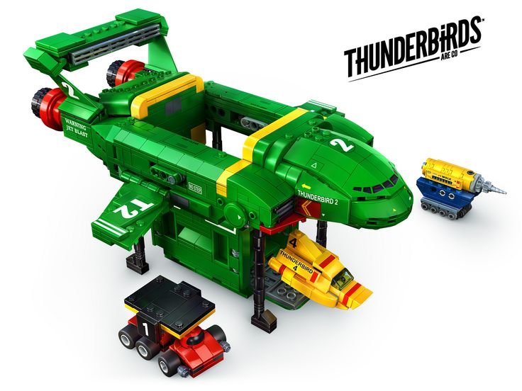 https://flic.kr/p/U8rUHE | Thunderbirds Are Go | Vote for THUNDERBIRDS ARE GO to be an official LEGO set here ideas.lego.com/projects/d11d97d2-7b84-4011-879d-27443a086404  Designed in LDD, exported to Mecabricks, and rendered with Mental Ray using a HDRI image. Arch and Design materials were used with reflections set to quick interpolate for quicker rendered reflections that both fade and blur with distance from source. The bevel render effect function was used for micro bevels. Render…