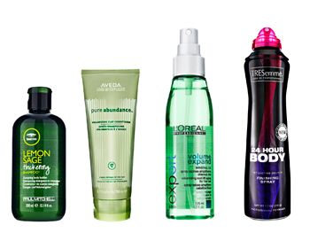 Hair products for fine/straight hair