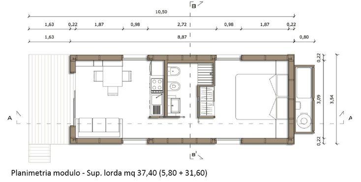 Planimetria Casa HI-LOW