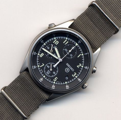 SEIKO Royal Air Force Chronograph Gen.2 7T27-7A20