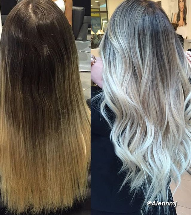 Crystal Ash Blonde Hair Color Ideas For Winter 2016: 1000+ Ideas About Grey Blonde Hair On Pinterest