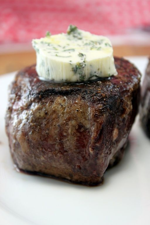 Unbelievable. Will never grill again The secret to how steakhouses make their steaks so delicious - Restaurant Style Filet Mignon... it is true. No more grilled steak... It's pan seared in butter and finished in the oven.  It's the perfect medium rare and it's the most flavorful, delish, heavenly dish of all time when done correctly. For those who do steak on the holidays