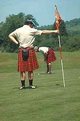 The land where golf was invented.
