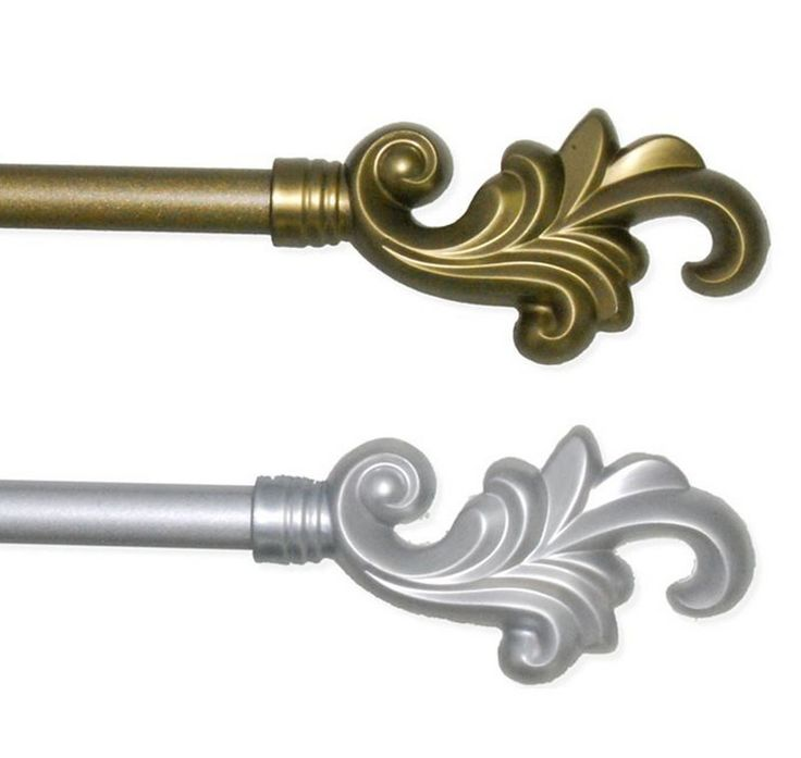 Check out the deal on Plume Finial Adjustable Curtain Rod Set at BedBathHome.Com