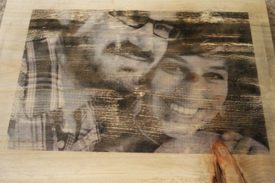 Finished--Tutorial for picture transfer to wood
