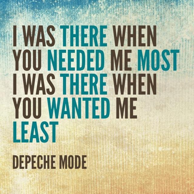 Depeche Mode - Alone Delta Machine