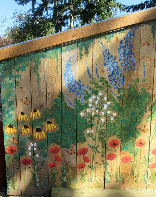 Best 25 Garden Mural Ideas On Pinterest Hippie Garden