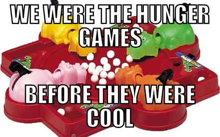 Hungry hipster hippos!