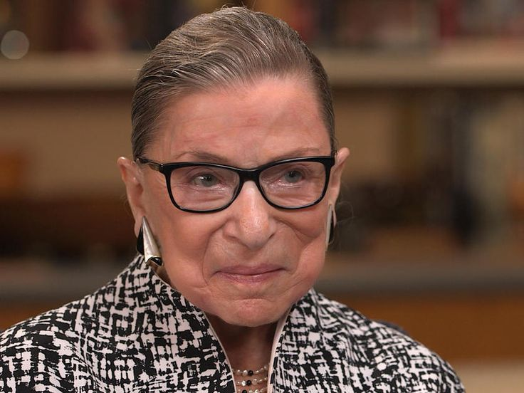 """Justice Ruth Bader Ginsburg says she will stay on the Supreme Court as long as she can go """"full steam"""""""