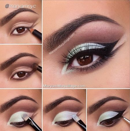 The white eye shadow - #eyeliner #whiteeyeshadow #eyemakeup #maryammaquillage - Love beauty? Go to bellashoot.com for beauty inspiration!