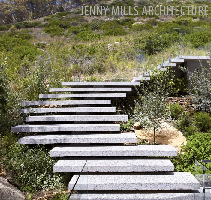 landscape, stairs, precast concrete, context, landscaping