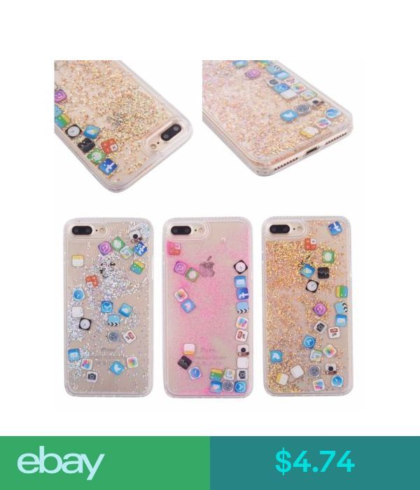 Cases Covers Skins App Icon Dynamic Quicksand Sequins Phone Case Cover For Apple Iphone 6 7 8 Plus Ebay Electr Phone Case Cover Apple Iphone 6 Iphone Icon