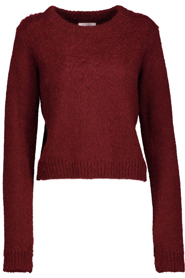 Issa stretch-knit sweater