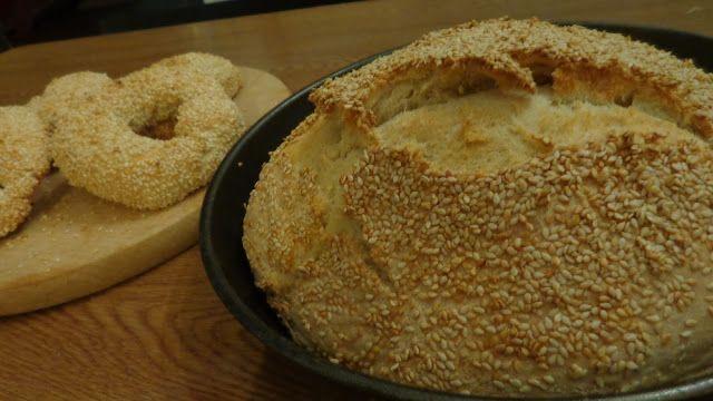 Κουλουράκια -ψωμί-τηγανόψωμα -Ολα με μία ζύμη !!