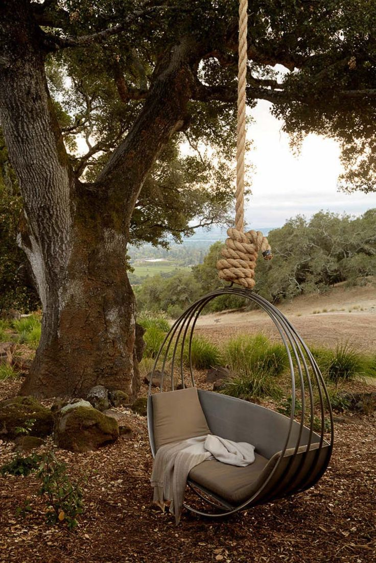 Hanging bed nest - 27 Absolutely Fabulous Outdoor Swing Beds For Summertime Enjoyment