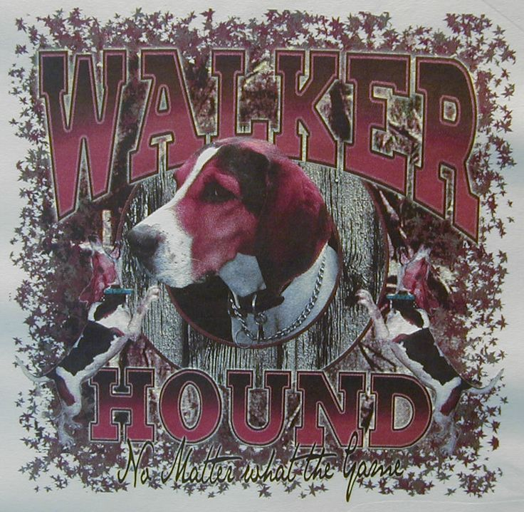 WALKER HOUND NO MATTER WHAT THE GAME