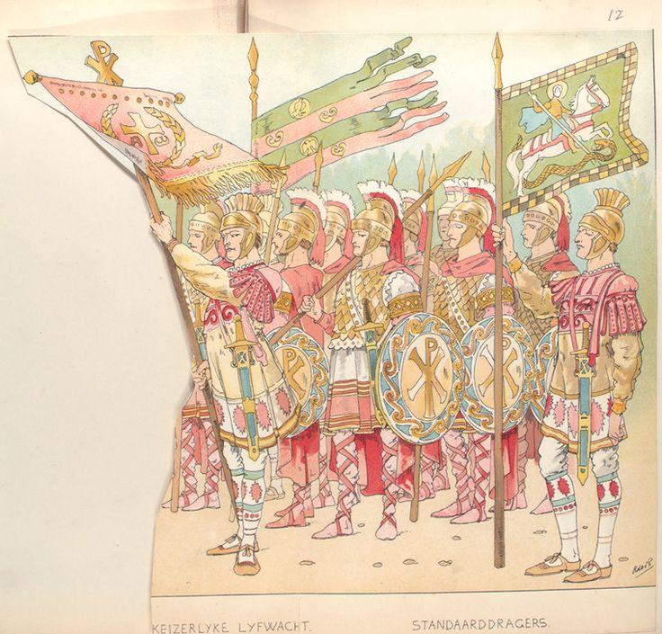 11 - Keizerlyke Lyfwacht, Standarddragers.