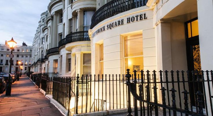 Brunswick Square Hotel Brighton & Hove The Brunswick Square Hotel offers a superb base in the most elegant Grade I listed square in Brighton and Hove, moments from the beach and close to all that Brighton and Hove have to offer.  All the Brunswick rooms are en suite and have free Wi-Fi .