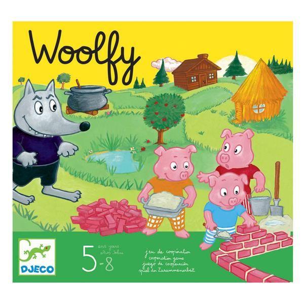 Djeco woolfy spil, Ulven og de 3 grise - prisvinder