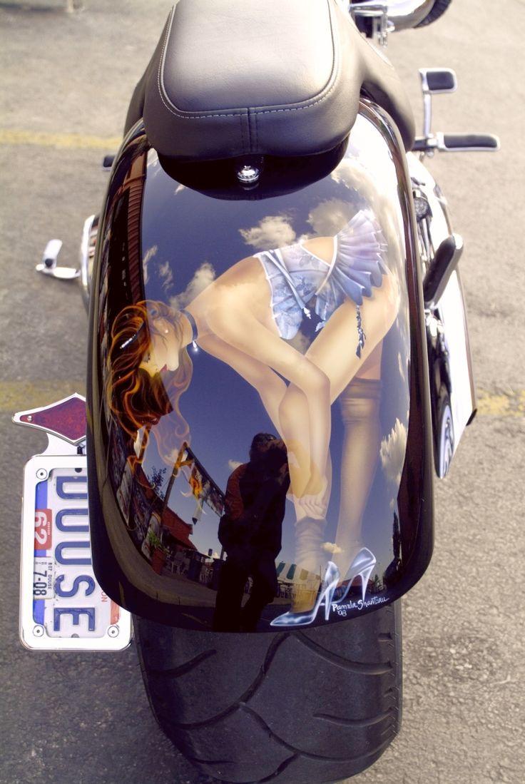 470 best airbrush images on pinterest art paintings for Airbrush car mural