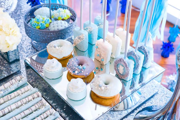 Sweets from an Elegant Brit Milah Baby Naming Ceremony on Kara's Party Ideas | KarasPartyIdeas.com (17)
