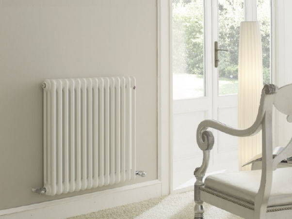 irsap . tesi - horizontal hot water radiator, aluminum