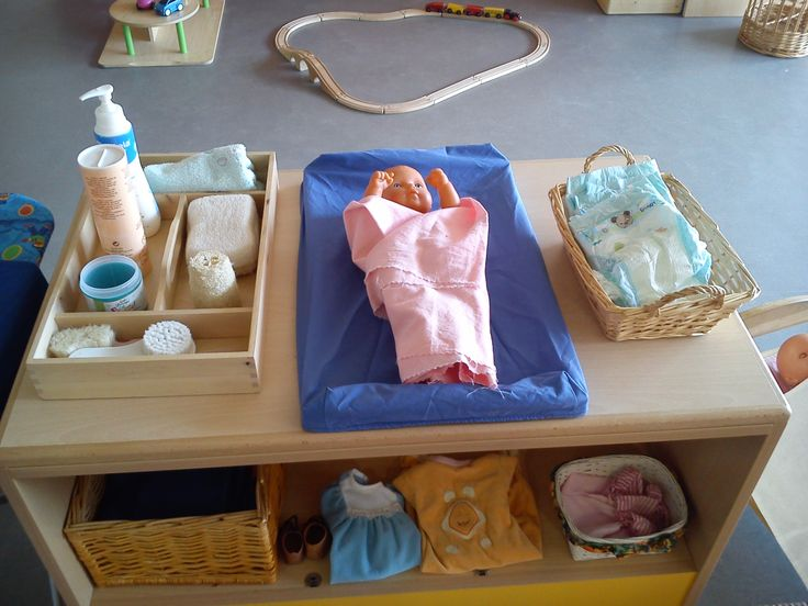 A baby changing unit for Role Play