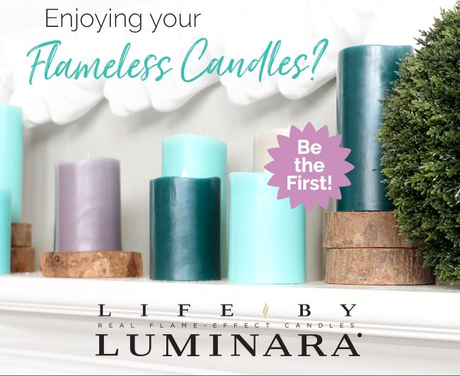 New #Luminara  #candles