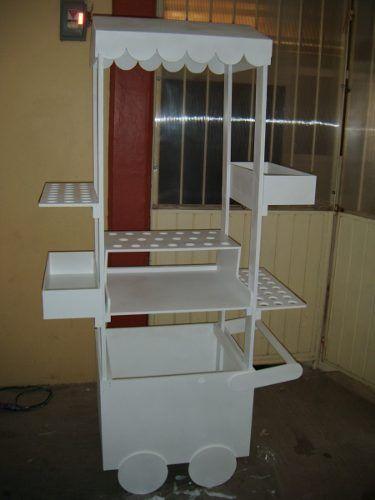 Carreta Para Mesa De Dulces - $ 1,600.00