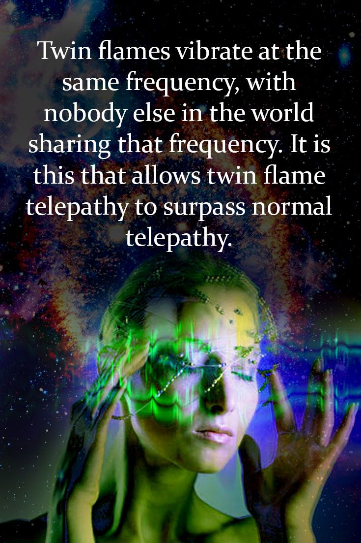 Of telepathy signs soulmate How to