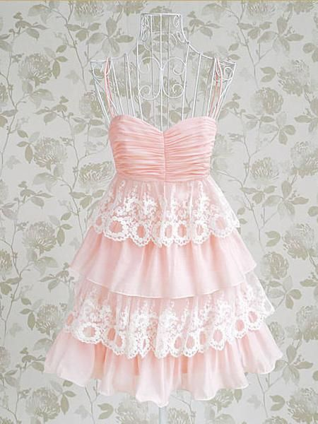 I found 'Adorable Pink and Lace Dress Custom Made' on Wish, check it out!