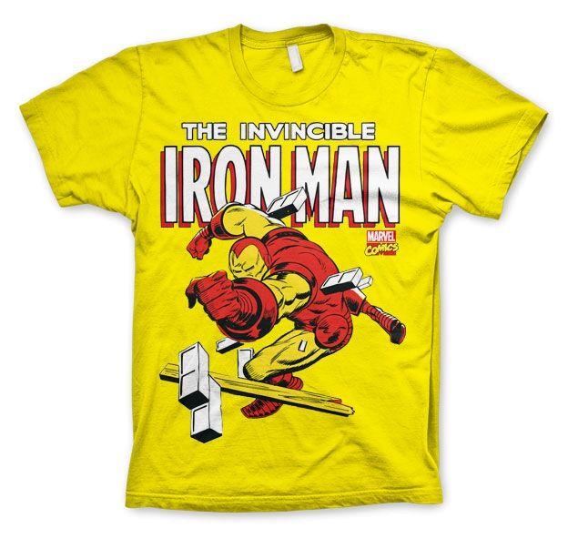 Iron Man koszulka mur męska