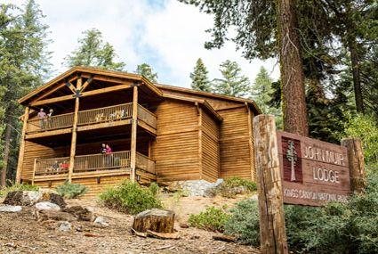 Photo John Muir Lodge pinnacle of Kings Canyon Lodging.