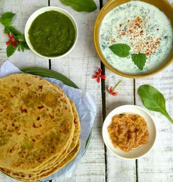Alu paratha or potato stuffed Indian flatbread is possibly the most popular stuffed paratha. I have never met anyone who did not like a hot alu paratha straight off the tava, served with a cube of butter that melts in the heat of the paratha to make a small pool of fatty goodness to top the carb ind