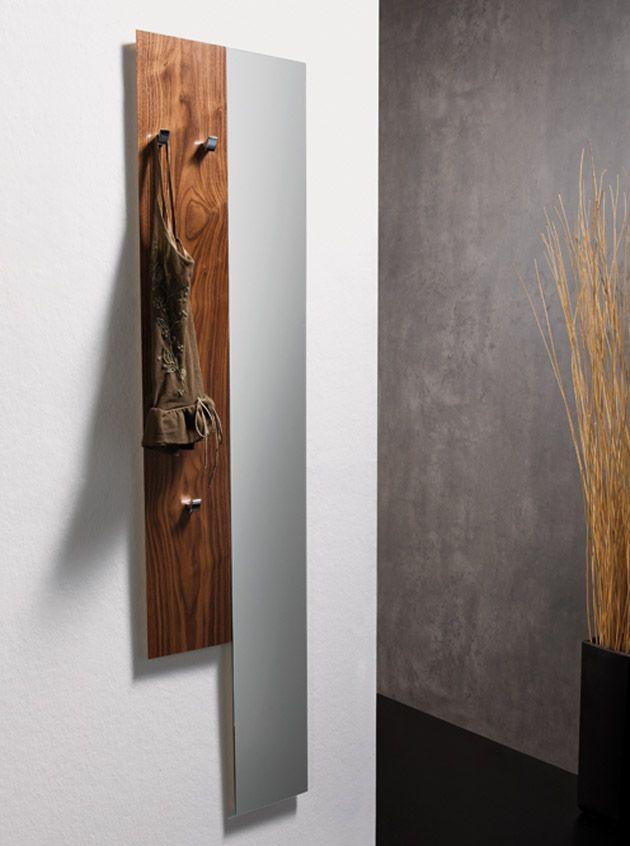 Recibidores modulares de madera himalaya decoraci n for Colgadores de madera