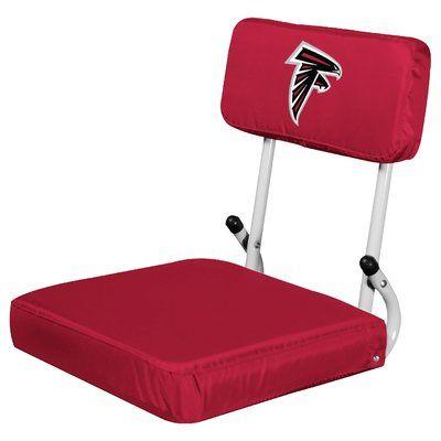 Logo Brands Hardback Stadium Seat NFL Team: Atlanta Falcons