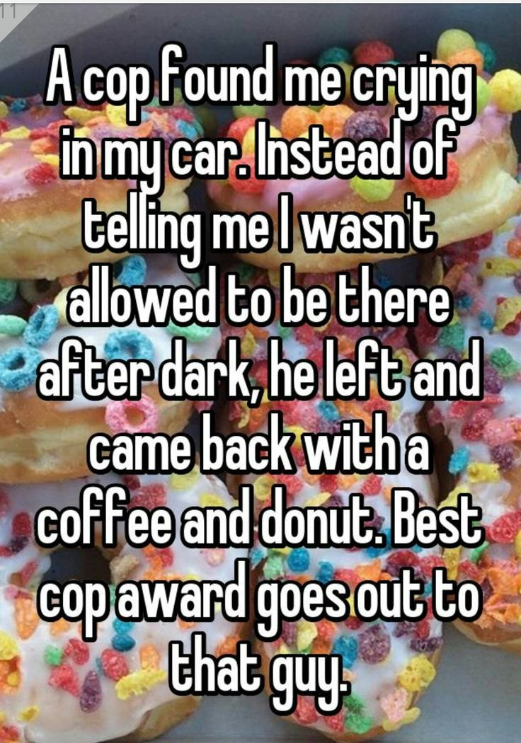 That's so cool I would thank this cop so much